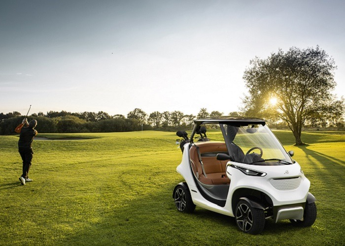 Snyggaste golfbilen