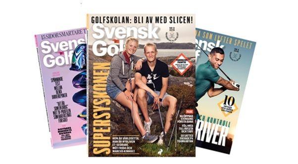 SGF slutar skicka ut Svensk Golf 2020