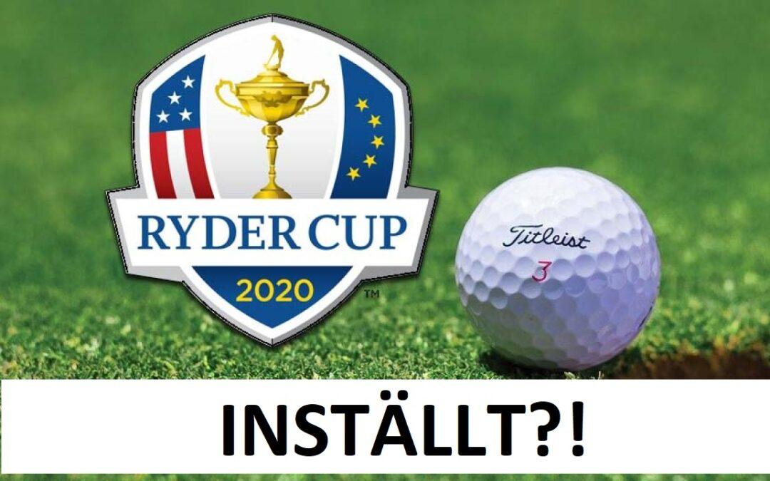 Ryder Cup ställs in!?