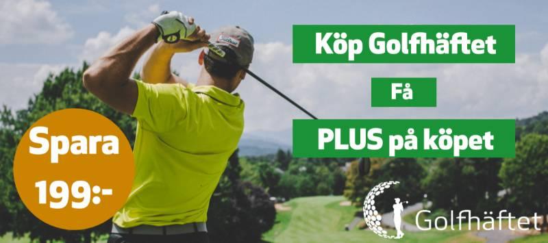 Golfhäftet med plus